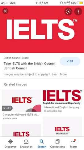 Ielts classes will be start