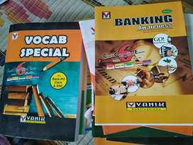Competitive exam books for banking and railway exam