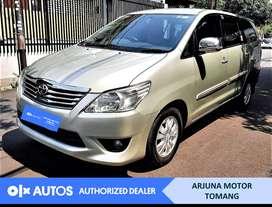 [OLXAutos] Toyota Kijang Innova 2013 2.0 G A/T Bensin #Arjuna Tomang