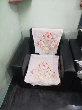 two single sofa new condition.