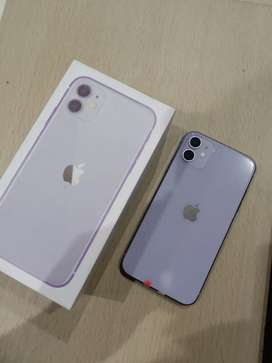 IPhone, IPhone 11 Purple 128GB Fullset !!!