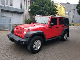 Jeep Wrangler Sport Unlimited  3.6L Pentastar 2013