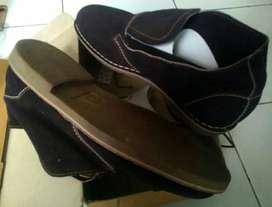 Free Kirim -Ready - COD - Sepatu slim ori brown sx size 44