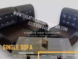Single Sofa with gurantee modernconcept Chair Office Table Study