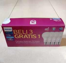 Lampu LED Philips My Care 10 Watt Beli 3 Gratis 1