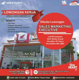 Lowongan pekerjaan sales marketing