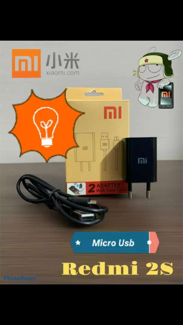 Charger Xiaomi Micro usb Kwalitas Biasa 0
