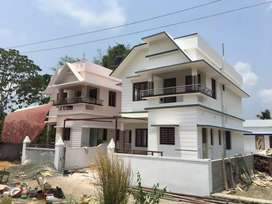 3.5 cent 1300 sqft 3 BHK brand new house Rs. 40 lakhs at mulanthuruthy