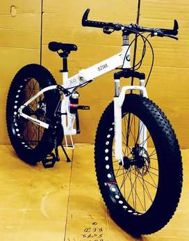 B M.  Fat foldable. 21. Gear SHIMANO. NEW CYCLE Available