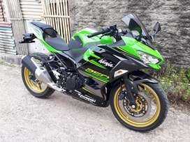 All New Kawasaki Ninja 250 2018 hijau KRT