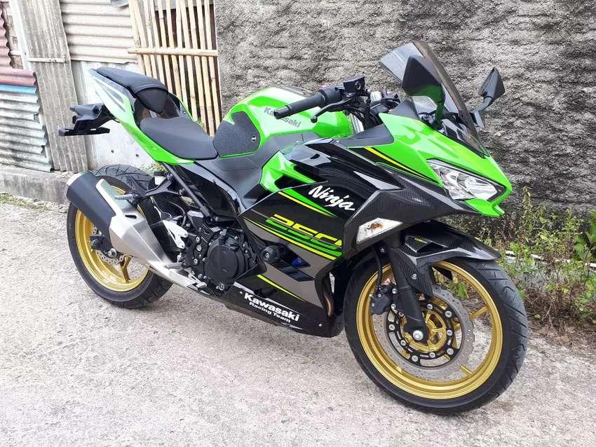 All New Kawasaki Ninja 250 2018 hijau KRT 0