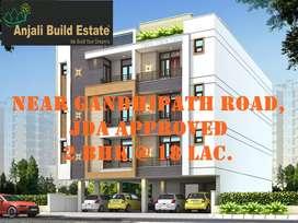 2 bhk luxurious flat in gandhipath west Vaishali Nagar Jaipur