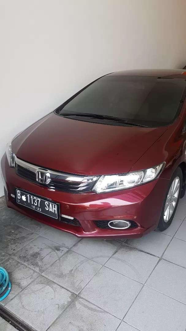 Mobil sedan Honda Civic 1.8 AT Merah 2012 0
