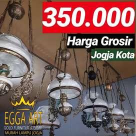 Produksi Lampu Gantung Antik Klasik Hias Joglo Blora