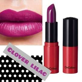 colour drenched lips.