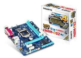 mainboard gigabyte h61 box socet 1155