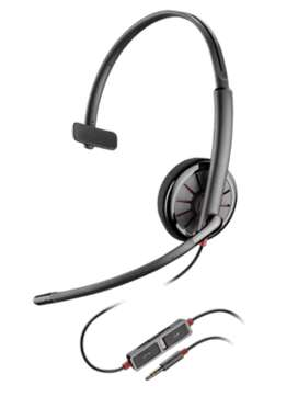 BLACKWIRE 215  Corded Headset With 3.5 MM Connection