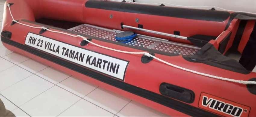 Jual Berbagai Macam Robber Boat Kapasitas 12 Orang Perahu Karet VIRGO