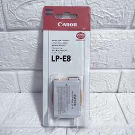 Baterai Canon DSLR Battery LP E8 For 550D 600D 650D 700D