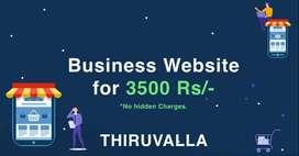 Dynamic Website at 3500/-