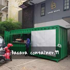 Box container- container booth cafe- container kedai- container usaha