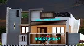 ELEGANT Villa for sale at VADAVALLI ( 58 Lakhs)-Vinayagam