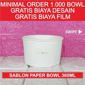 Sablon Paper Bowl 360ml