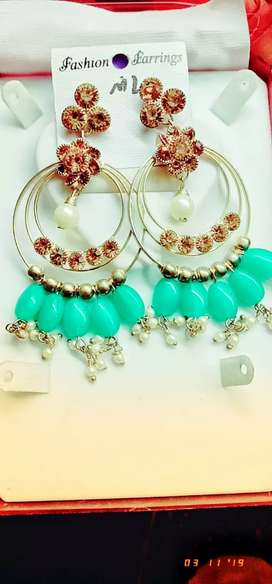 Imported artificial ear ring
