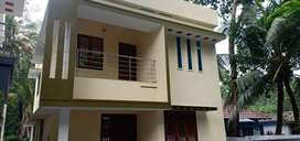 4 cent plot with 1450 sq.ft 3 BHK house for sale in kollam vallikeezh