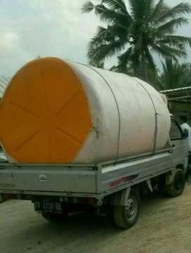 Tandon air plastik pvc toren 5000 liter hdpe bahan plastik tebal