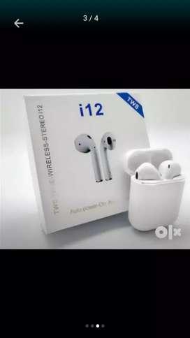 Wireless earphone stereo i12