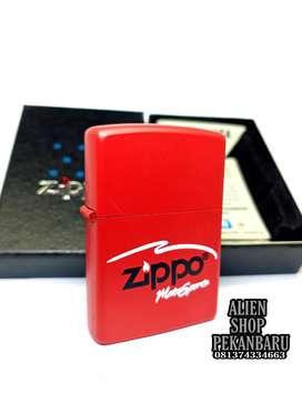 Korek api Zippo RED motorsport GRADE MATTE