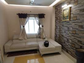 Semi furnished flat for rent near South City