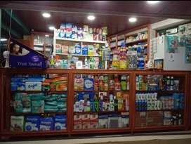 Selling medical shop with all stocks