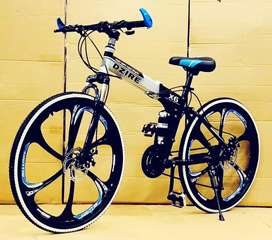 Dzire X6 FOLDABLE CYCLE WITH 21 SHIMANO GEARS NEW CYCLE AVAILABLE
