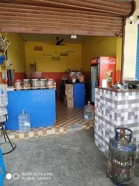 Tea shop corner shop 4km no shop from ORAGADAM