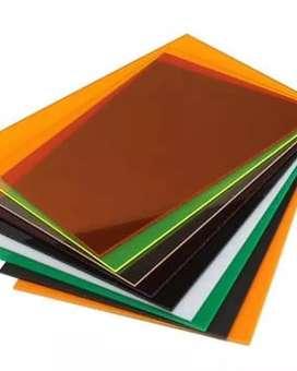 Acrylic Gallery Adiwarna uk.122x244 Bening 8mm