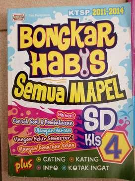 Dijual buku Bongkar Habis Semua Mapel SD kls 4