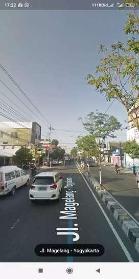 Tanah depan TVRI  jalan Magelang