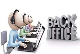 Back office data entry