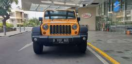 JEEP RUBICON 3.6 PENTASTAR 2013 KUNING ANTIK COLLECTORS ITEM LOW KM