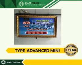 Bergaransi ! Jam Digital Masjid Type Advanced Mini Kirim Masjid Serang