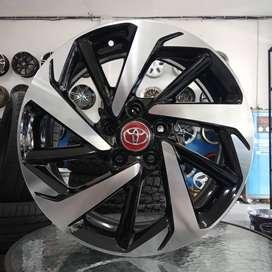velg keren Ring 17x7,5 pcd 5x114.3 Toyota Rush,Camry,Inova