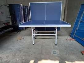 Meja pingpong tenis meja bisa dilipat bayar dirumah kaki besi