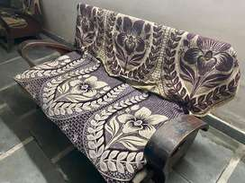 3+1 very Solid antique Sofa for sell