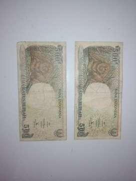 Uang 500 orang hutan thn 1991