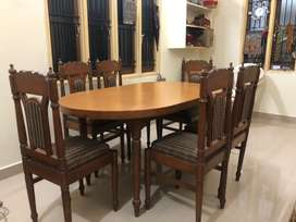 Pure Teak wood Dinning set