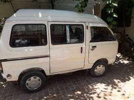 Van bolan 2005 model good conditions in kohat number white color