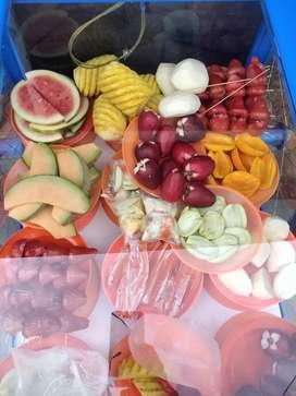 Jual rujak buah segar ibu mar