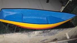 Glass fibre boat